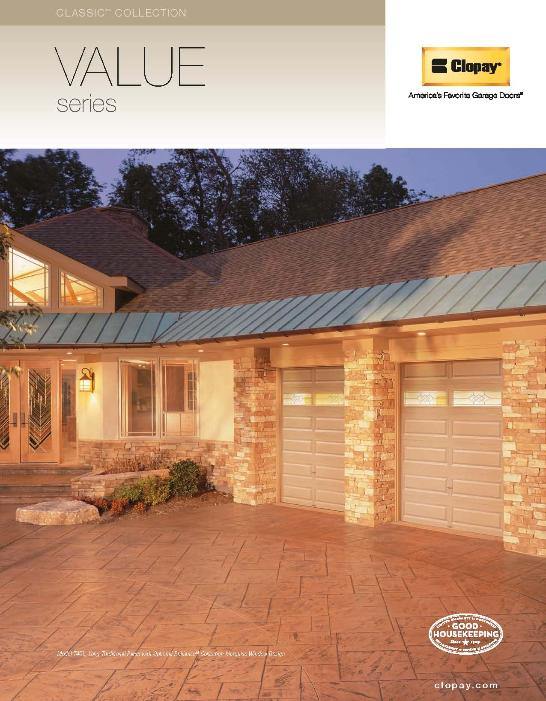 Clopay Value Series Garage Door